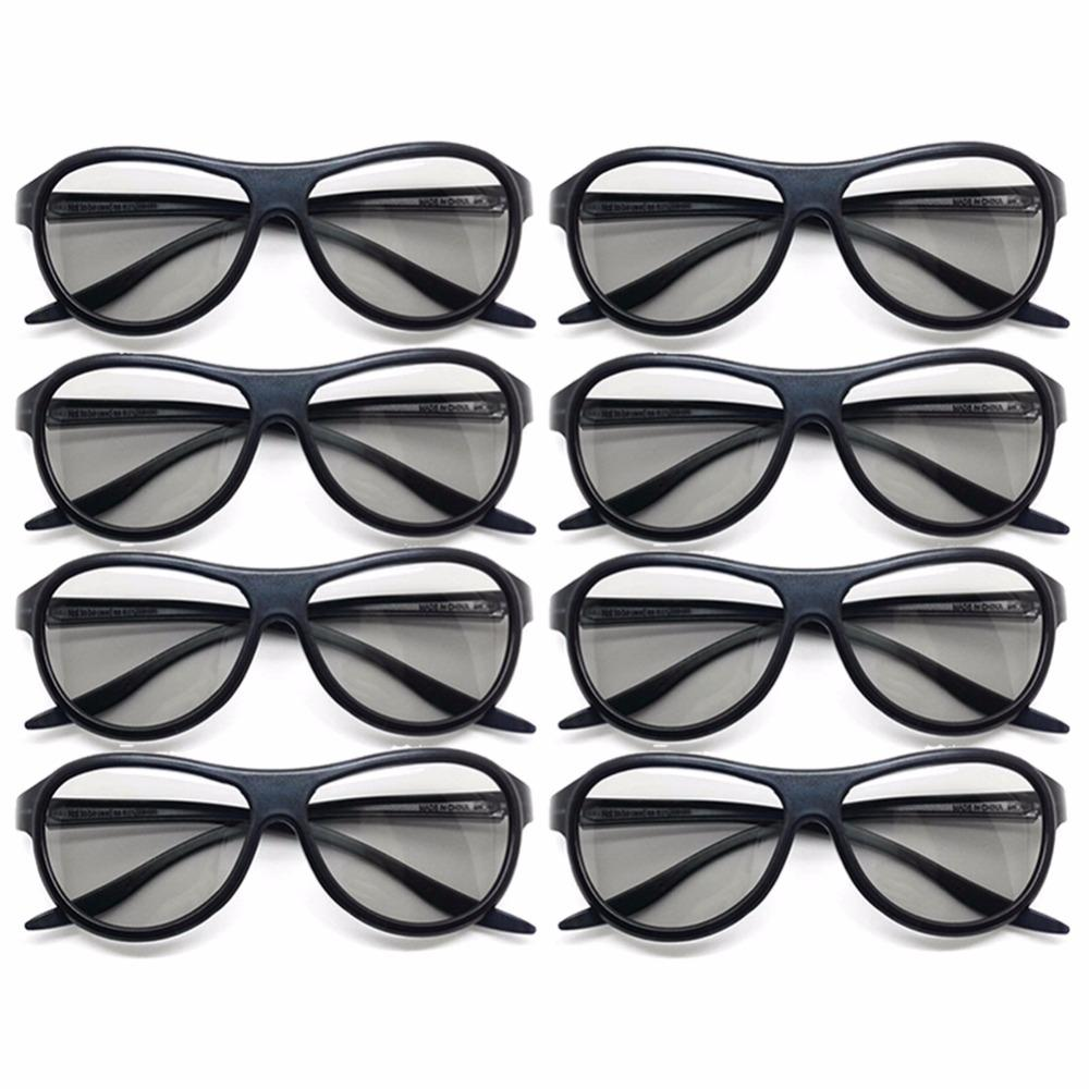 42e62bf3a9 Compre 8 Unids / Lote Reemplazo AG F310 Gafas 3D Polarizadas Gafas Pasivas  Para LG TCL Samsung SONY Konka Reald 3D Cinema TV Computadora A $26.02 Del  Alisal ...