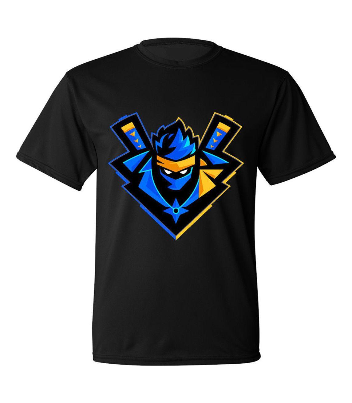 Grosshandel Fortnite Ninjashyper T Shirt Twitch Ninja Schlacht Royale