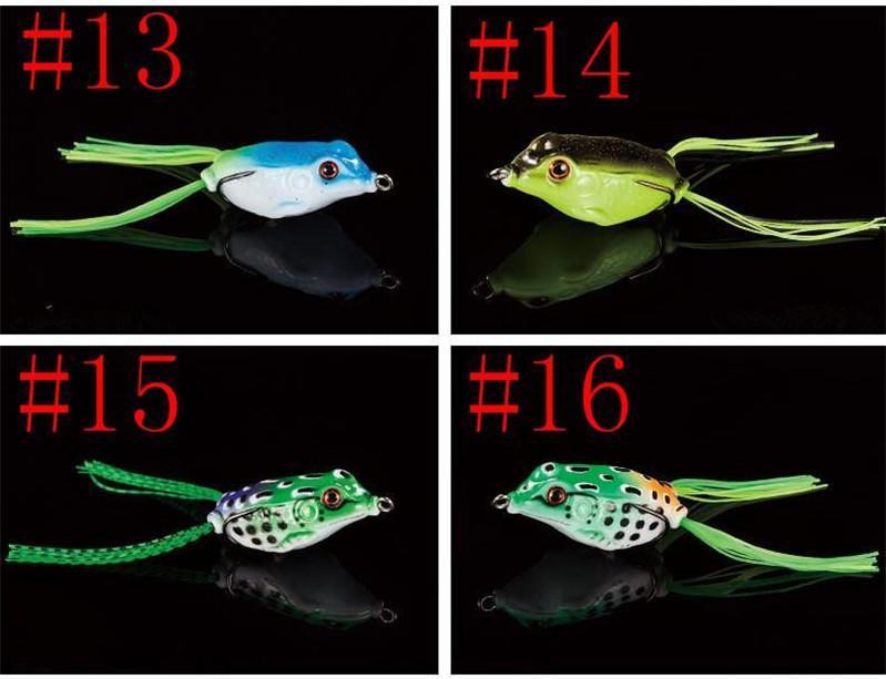 Имитация искусственные мягкие резиновые пластиковые лягушка приманки 4.5 см-8 Г 5 см-11 г 5.5 см-14 г реалистичные лягушка змееголов в штучной упаковке приманки бесплатная доставка