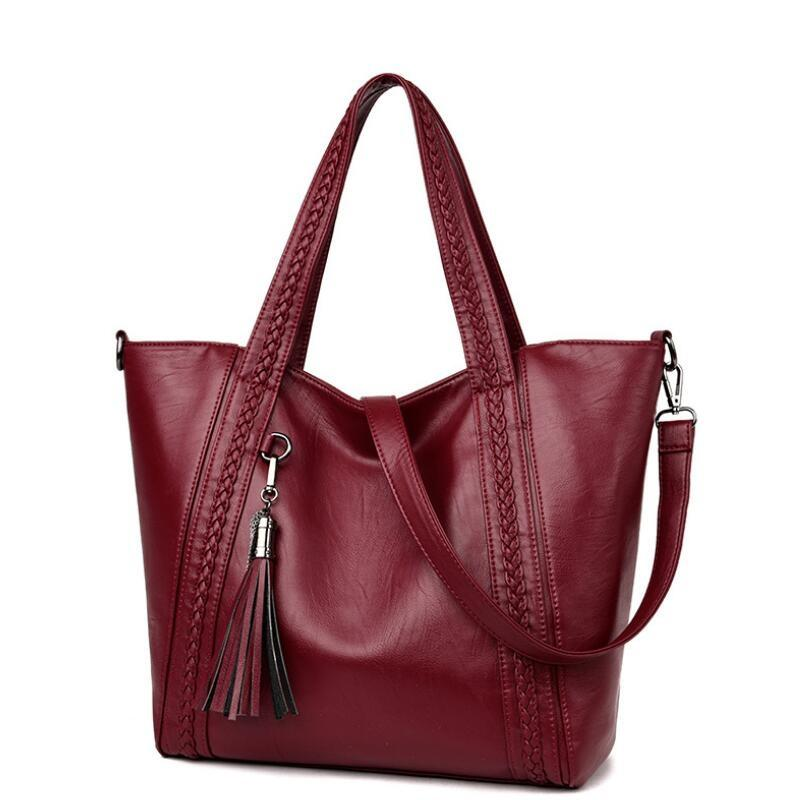 1b15dd024386 2018 New Style Large Size Women Bag PU Leather Handbags Big Shoulder Bag  Luxury Handbags Women Bags Designer Tote Bolsa Feminina Leather Handbags  Handbags ...