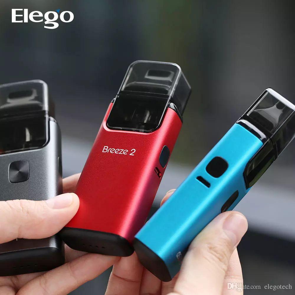 100% Authentic Aspire Breeze 2 AIO Kit with 3 0ml Vapor Pod built-in  battery 1000mAh E-Cigarette Pod system Starter Kit