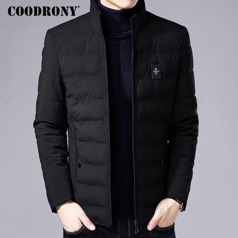 Acheter COODRONY Veste D hiver Hommes Épaisse Chaud Parka Hommes Vêtements  2018 Nouveautés Manteau D hiver Hommes Casual Vestes Et Manteaux Outwear  8820 De ... daa16e38f2dc