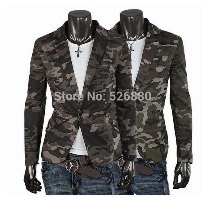 6862161424299 2019 Blazer Men Fashion Casual Mens Cotton Short Slim Army Camouflage  Jacket Coat Lapel Man Suit Brand Costume Homme From Yujiu, $34.48 |  DHgate.Com
