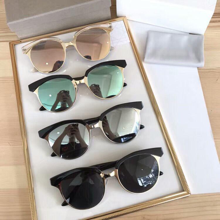 27bec903d5b N.Y. Stylish Sunglasses For Women Light Weight Half Frame Design Eyeglasses  UV Protection With Round Lens Fashion Lady S Eyewear Female Eyew  Prescription ...