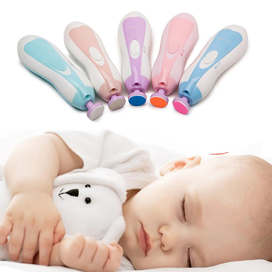 Baby Nail Clippers Trimmer Scissors Set Lovely Newborn Baby Nail