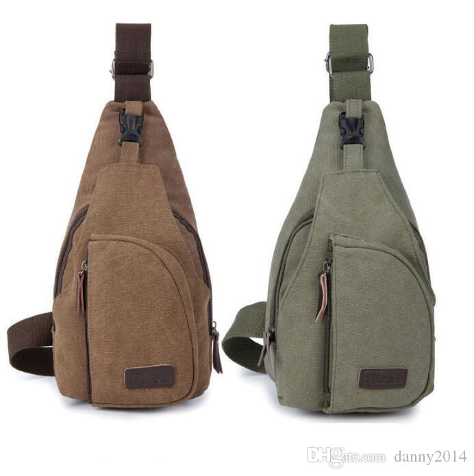 Portable mini randonnée en plein air sac de poitrine chasse sacs tactiques cyclisme sport sac à bandoulière camping voyage packs de toile