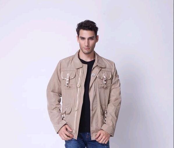 the best attitude 3e587 ee082 PEUTEREY men's fashion suit collar down jacket men coat 01