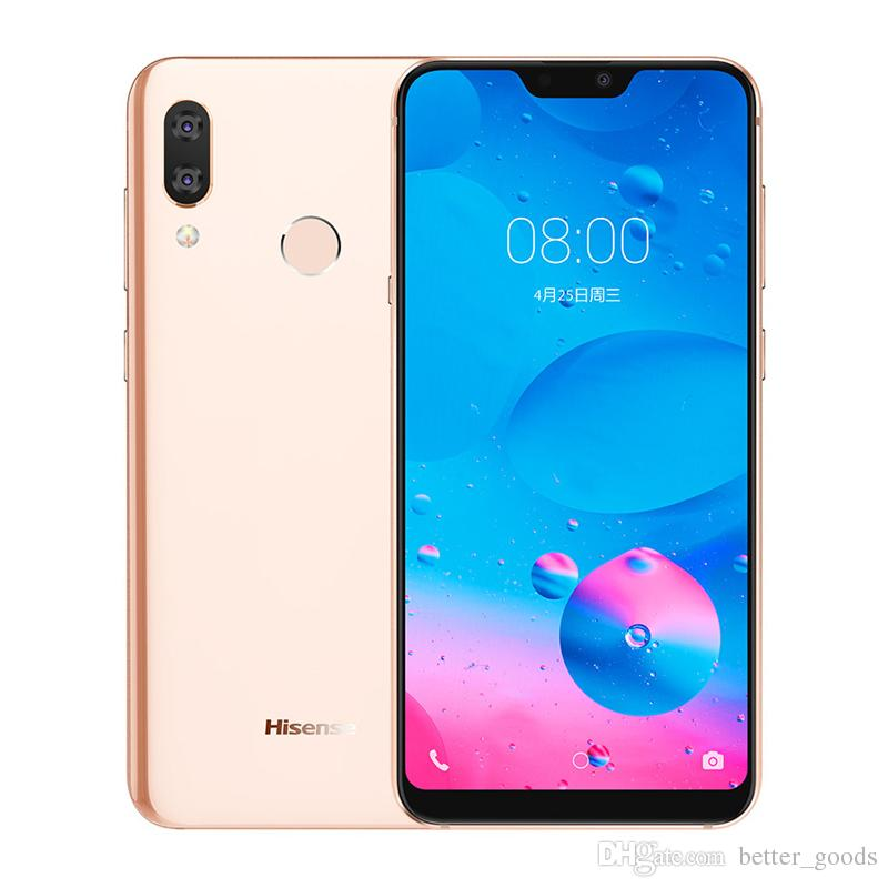 Original Hisense H20 6GB RAM 128GB ROM 4G LTE Mobile Phone Snapdragon 636  Ocra Core Android 5 84 inch 20 0MP Fingerprint Face ID Cell Phone
