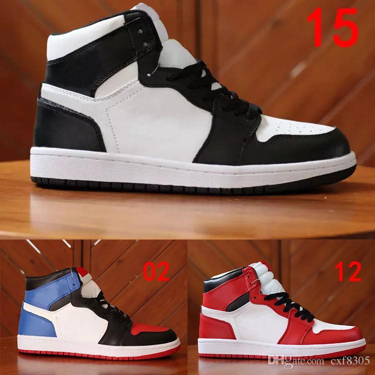 VENTA CALIENTE zapatos de diseñador 1 OG Top Zapatillas de baloncesto para hombre Chicago 1S Zapatillas Mandarin pato Zapatillas de deporte UNC Hombre