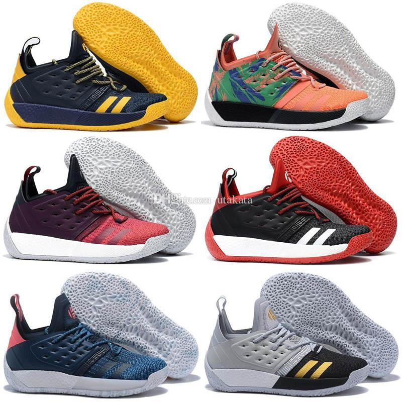 2018 New Arrivals Mens Basketball Shoes Harden Vol.2 Authentic Sneakers  James Harden Vol 2 Professional Basketball Trainers Shoe Sneakers For Women  Shoes ... 15538655b2