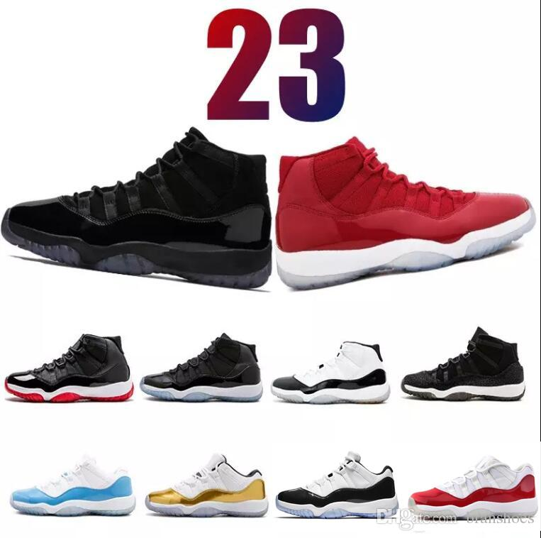d0996899df1c4b PRM Heiress 11s Mens Basketball Shoes Prom Night Concord Number 45 WIN LIKE  96 Gym Red 11 Bred Men Trainers Sports Sneaker Big Size 5.5 13 Carmelo  Anthony ...