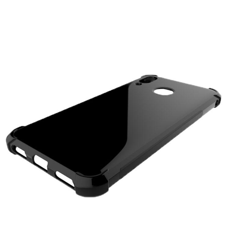 Asus Zenfone Max için M1 ZB555KL Zenfone Max Pro M1 ZB601KL Temizle Vaka Anti-vuruş Kenar Desigh Şeffaf TPU Kapak