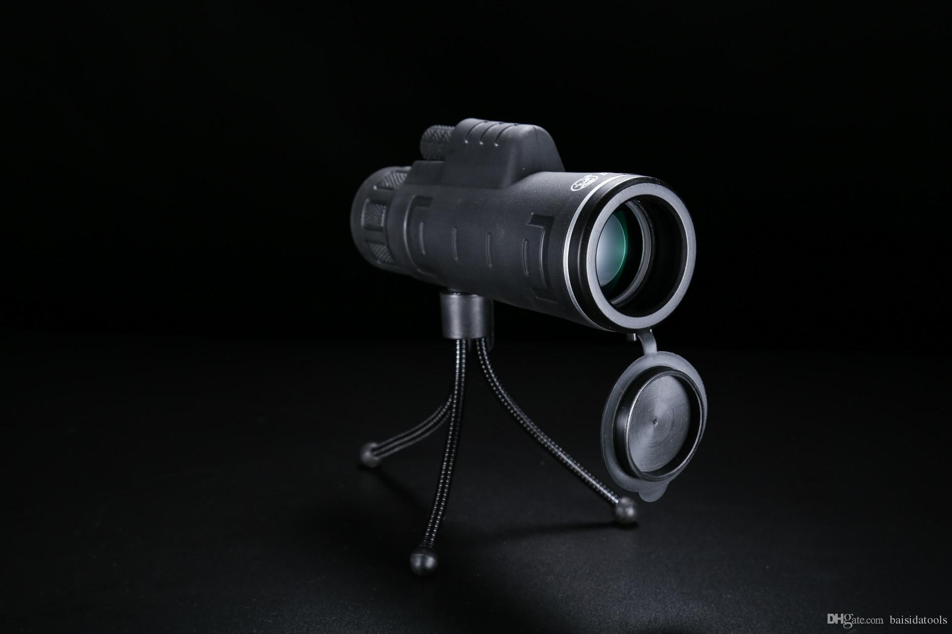 Monocular telescope times low light level night vision