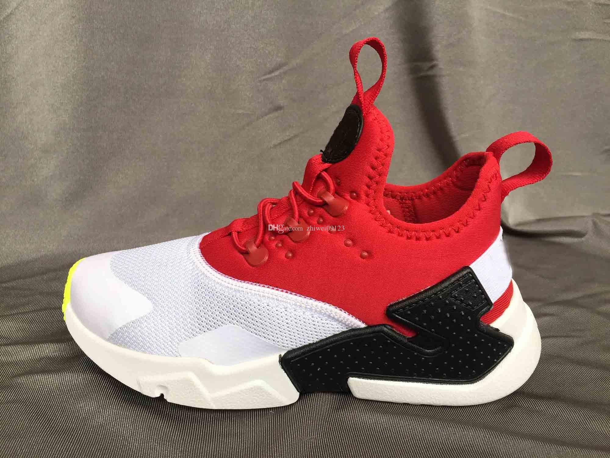 c87b7c474ec New Kids Air Huarache Sneakers Shoes For Boys Grils Authentic All White  Children S Trainers Huaraches Sport Running Shoes Size 28 35 Girl Running  Shoes ...