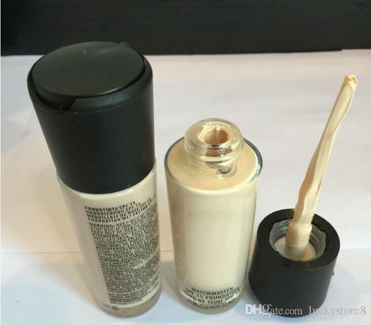 2020 HOT Makeup MC Foundation Fix fluid 15 Foundation Liquid 35ML Face Highlighters concealer drop shipping