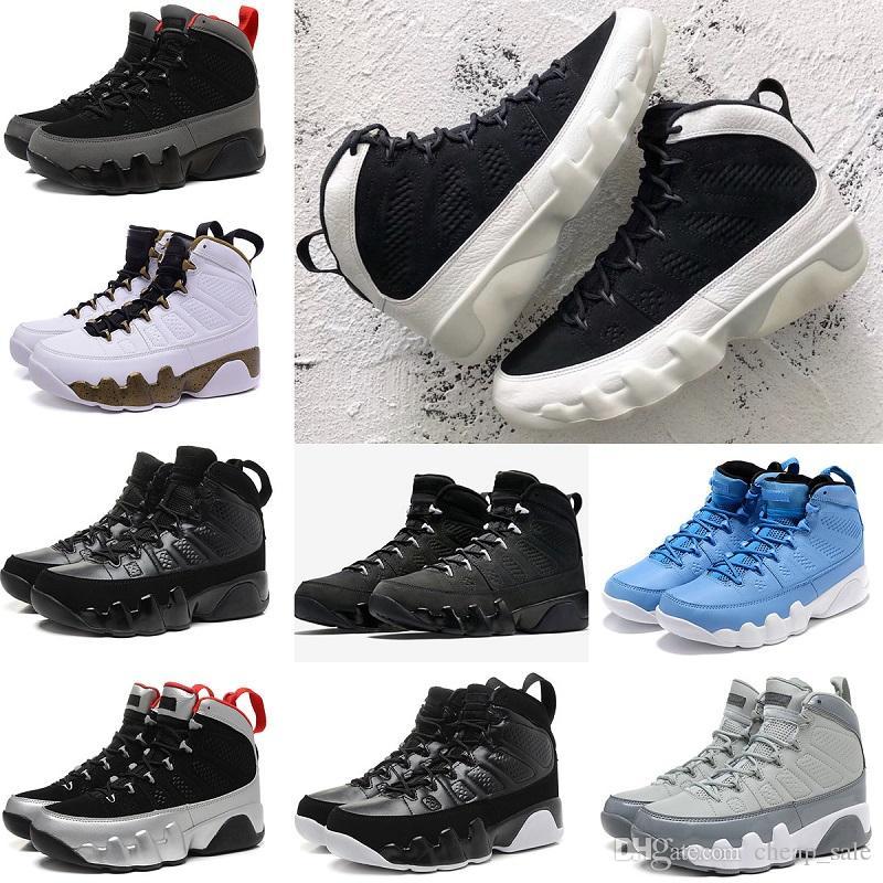 a38036e4d8e7 High Quality 9 9s Bred Space Jam LA Oreo Basketball Shoes Men Cool ...