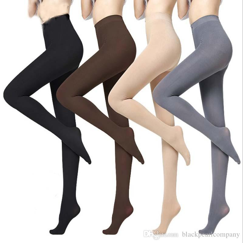 740829139 Hot classic autumn sexy women opaque footed tights pantyhose thick tights  stockings women fashion tights from