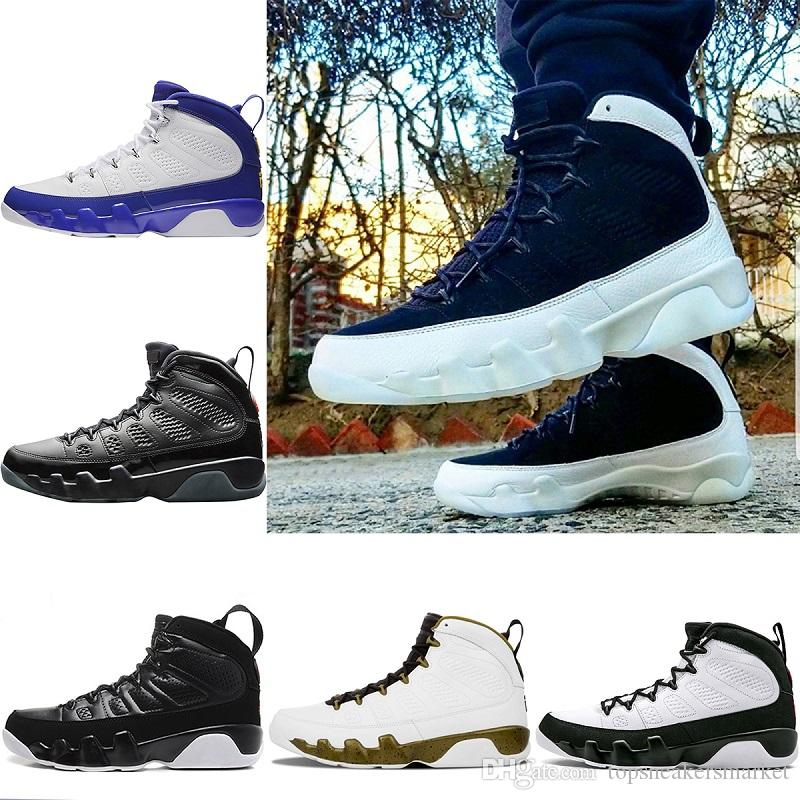 5a9427565bb852 Top Designer 9 Basketball Shoes 2018 Mens Trainers Sneaker Bred LA ...