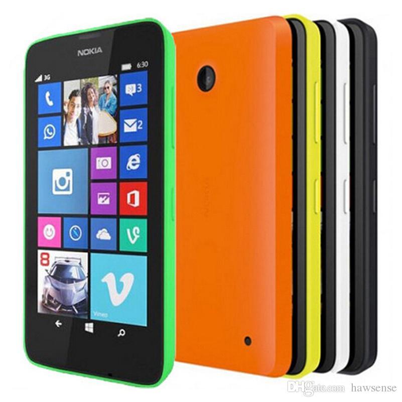 4a3572c6bde Precio Moviles Libres Restaurado OriginalLumia 630 Windows Phone 4.5  Pulgadas Quad Core 8GB ROM WIFI GPS 3G Teléfono Desbloqueado DHL Gratis  Celulares ...