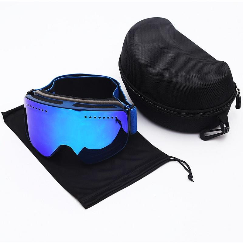 ba37d3f36fd Ski Goggles Double Layers Lens Brand Winter Snow Sports Snowboard ...