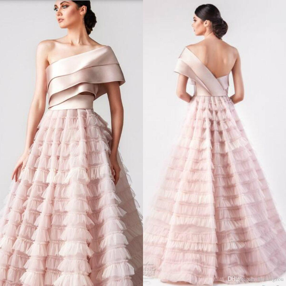 1738f669d64e One Shoulder Prom Dress Pattern
