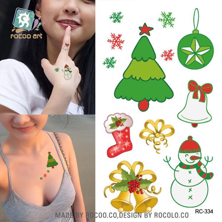 Body Art waterproof temporary tattoos for men and women Sex lovely 3D cartoon design small tattoo sticker Wholesale HC1175