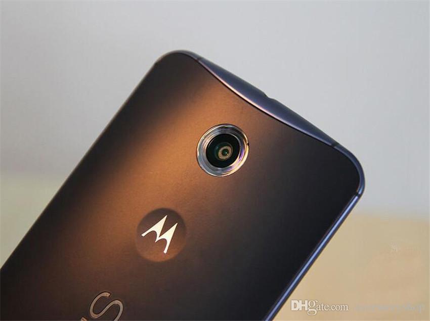 Refurbished Original Motorola MOTO Nexus 6 XT1100 XT1103 5.96 inch Quad Core 3GB RAM 32GB/64GB ROM 13MP 4G LTE Cell Phone Free DHL