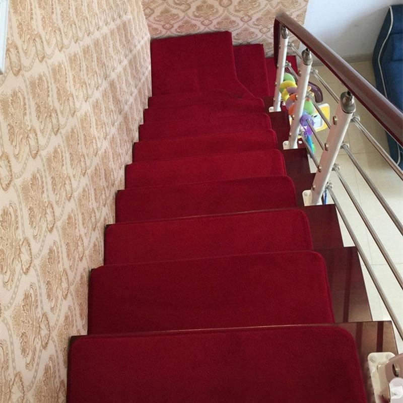 Awesome Stair Treads Mat Rectangle Non Slip Stair Rugs Mats Coral Velvet Pads  Carpet Discount Outdoor Cushions Patio Cushions On Sale From Kunnylight, ...