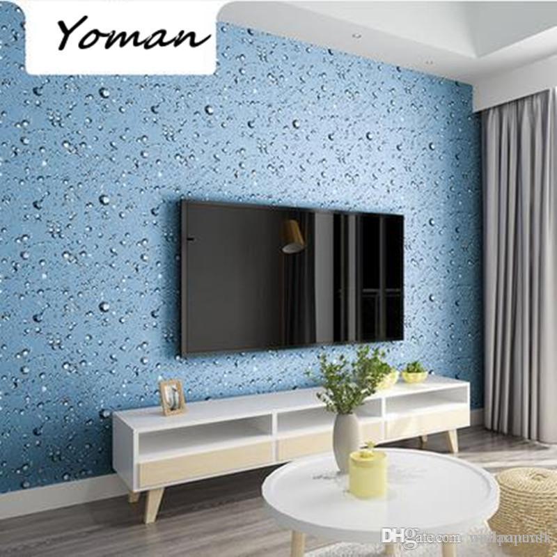 vinyl wallpaper self adhesive sticker cool waterproof pvc blue water