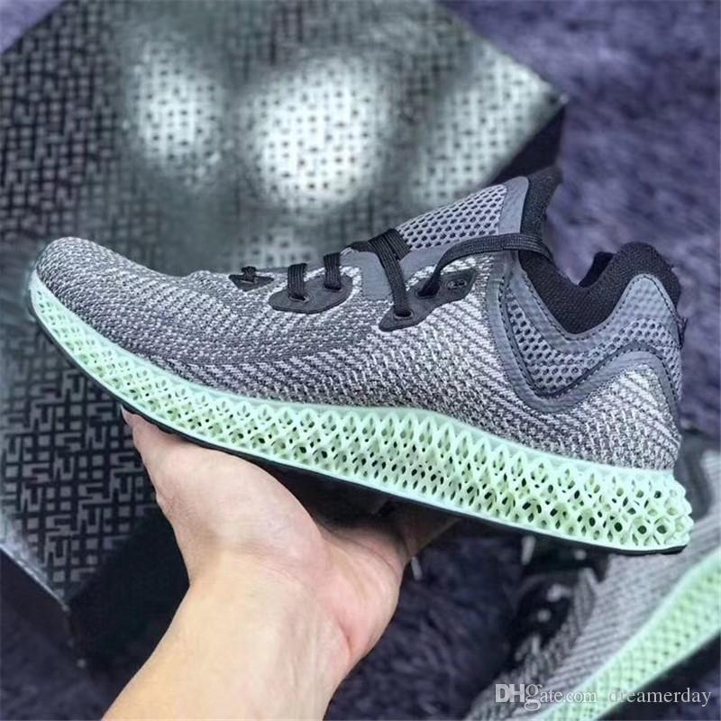 best sneakers a712b 977eb 2018 Release Alphaedge 4D LTD Aero Ash Green Core Negro Zapatillas  Deportivas Hombres Mujeres Auténticos Deportes 2066Adidas Con Caja  Futurecraft AC8485 Por ...