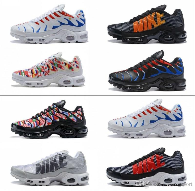 New 2018 France World Cup Chaussures Homme Air TN Maxes Plus SE NIC ... 26b1da0f9