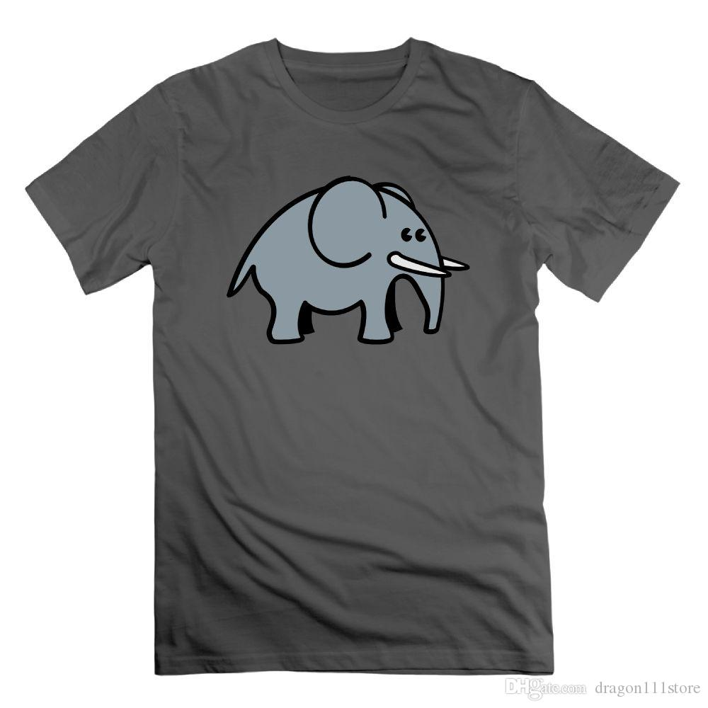 fe934653429906 Summer Tops 2018 T Shirt Cartoon Large Jungle Elephant Printing Simple  Design Shirt For Man And Woman Top Clothes Short Sleeve Awesome T Shirt  Designs Tea ...