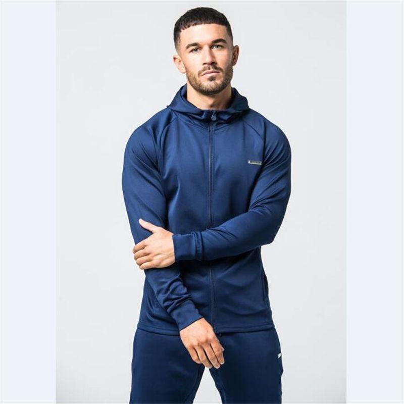 Men Suit Fitness Sportswear-8