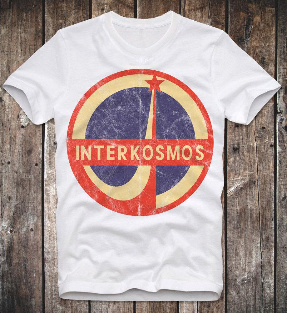 974ad076bd8 T SHIRT INTERKOSMOS RUSSIAN SPACE AGENCY NASA SOVIET UNION UDSSR DDR RETRO  LOOK Men's Clothing T-Shirts Tees Men cheap
