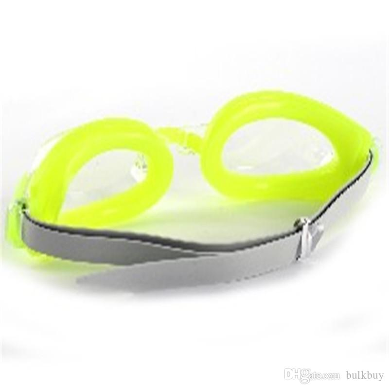 جديد مطاطا الاطفال الكبار لمكافحة الضباب حماية للأشعة فوق البنفسجية للماء نظارات السباحة نظارات واقية للتعديل