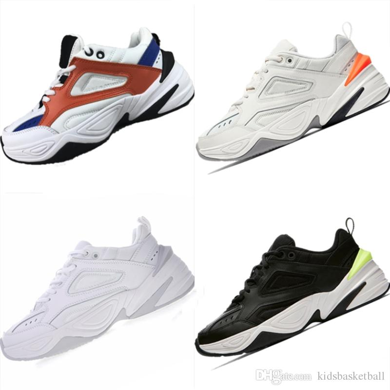 amazon cheap price 2018 Ultra Soft Bottom Cushioning Running Shoes Originals Monarch 4 M2k Tekno Genuine Leather Sports Sneakers store sale Manchester sale online lbF3F
