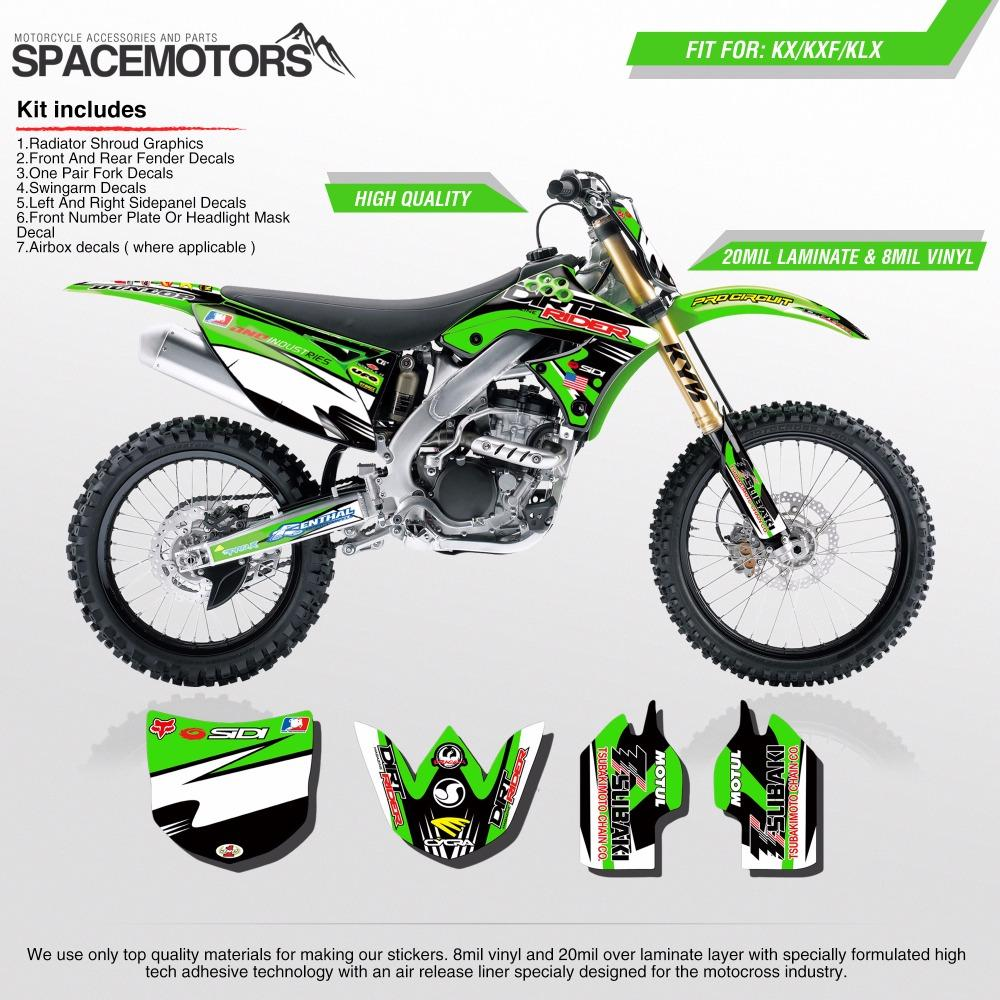 2019 vinyl skin stickers wrap for motorcycle kx klx kxf f 85 100 250 450 cc 2004 2006 year motocross enduro dirt bike from niumou 125 54 dhgate com