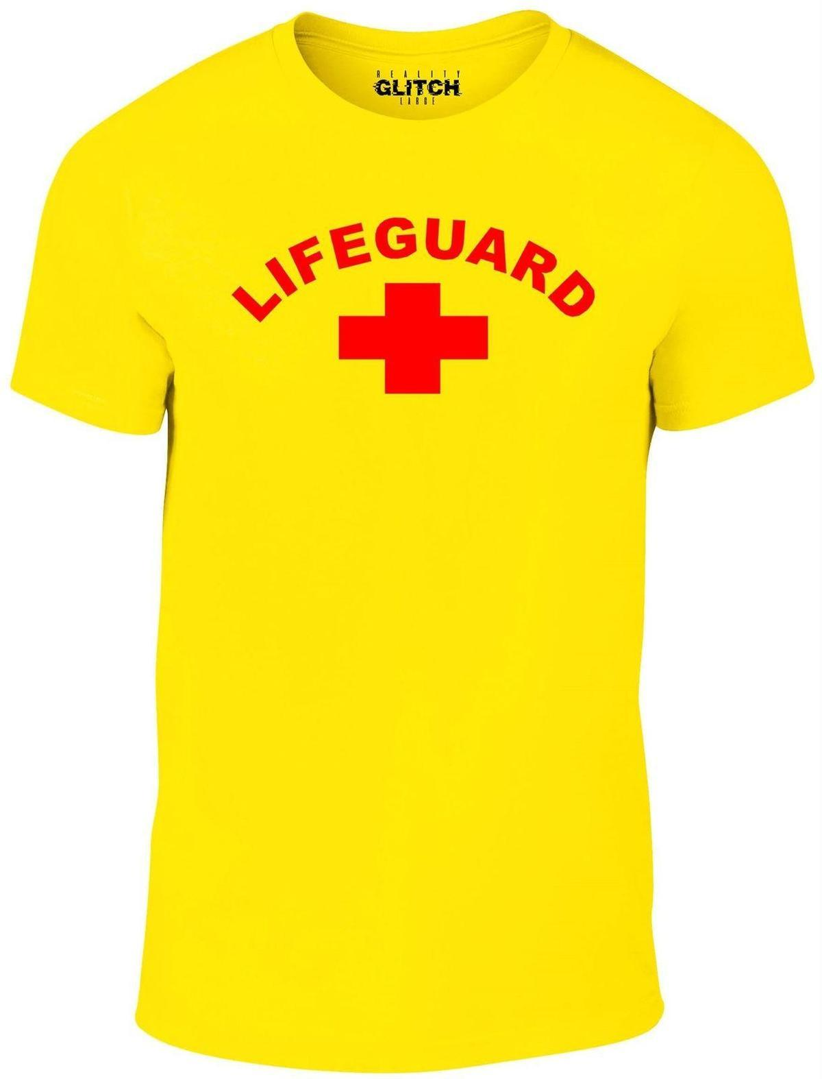 b7499a17b31 Men S Lifeguard T Shirt Beach Life Saver Fancy Dress Baywatch Shirt Custom  T Shirts From Yuxin003