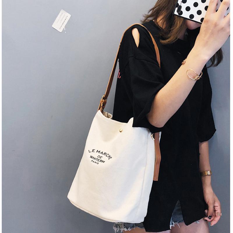 Large Pocket Casual Totes Women s Handbag Shoulder Handbags Canvas ... bb1c60b639ae6