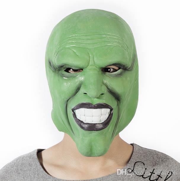 Partido Látex Aliens Máscara Careta Cabeça Cheia Fantasma Capacete Cosplay Fancy Dress Assustador Halloween Traje Terror Full Face Máscaras festivo evento prop