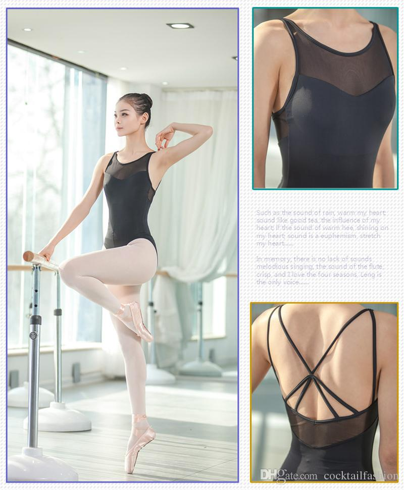 145dbeb290dc Ballet Leotards For Women 2018 New Of Summer Daily Exercise ...