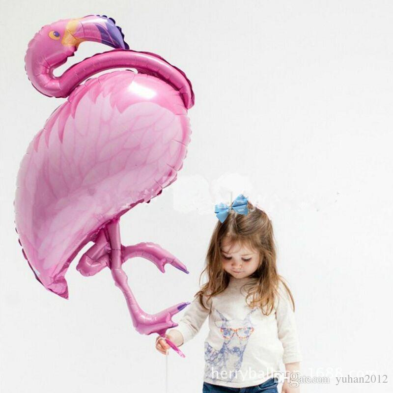 2018 Big Bird Balloons Flamingos Balloons Foil