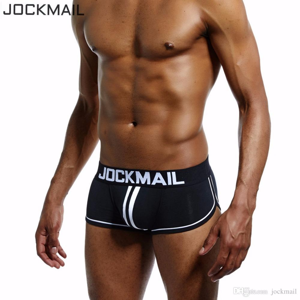 Breathable Fashion Mens Back Cut Out Sexy Backless Boxers Mesh Trunks Underwear Open Back Shorts Panties Underpants Shorts Cueca High Quality Men's Underwear