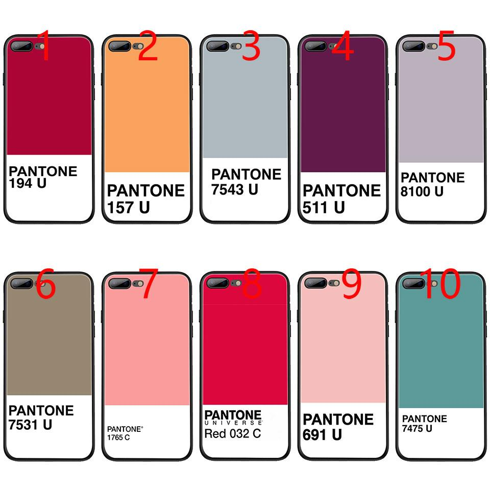 pantone coque iphone 8 plus