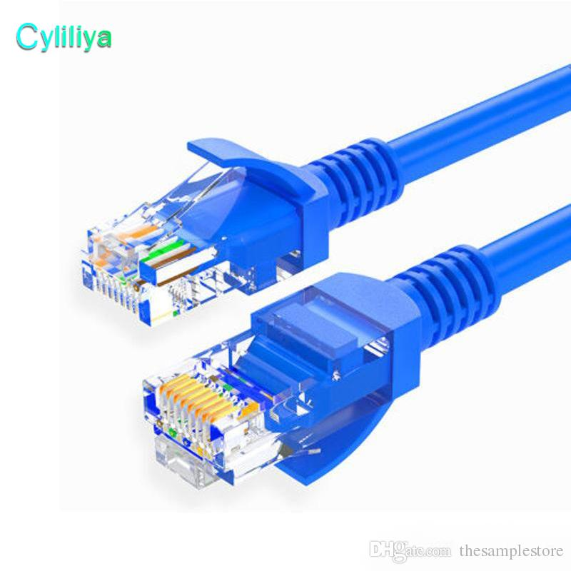 RJ45 Ethernet Cable 1M 3M 1.5M 2M 5M 10M 15M 20M 30M for Cat5e Cat5 Internet Network Patch LAN Cable Cord for PC Computer LAN Network Cord