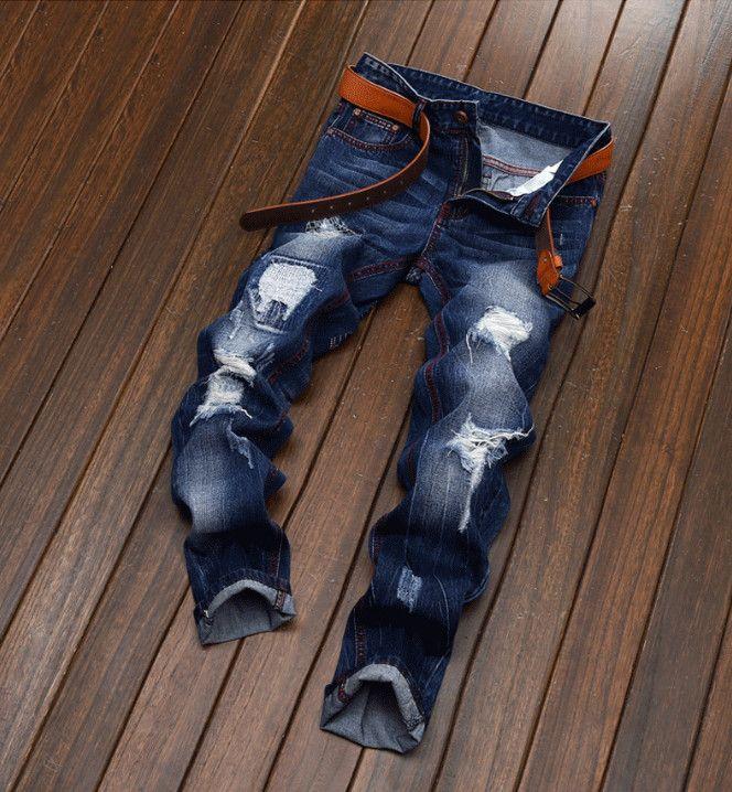 17b5a1d435 2019 Fashion Mens Jeans Robin Motorcycle Biker Jeans Rock Revival Skinny  Slim Ripped Popular Hip Hop Beggar Hole True Denim Pants Men Jeans From  Winer1990, ...