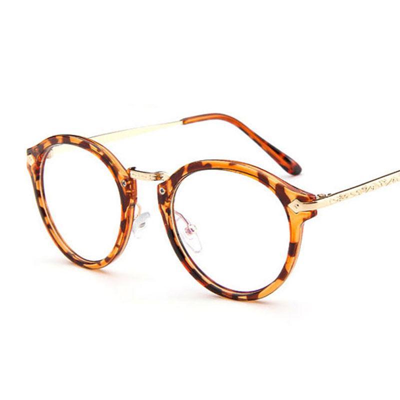 acb10803258 2018 Cute Style Vintage Glasses Women Glasses Frame Round Eyeglasses Frame  Optical Frame Glasses Retro Oculos Femininos Gafas Designer Eyeglasses  Womens ...