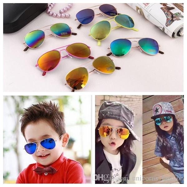 0ebe9d6d80 DRESSUUP Fashion Baby Boys Kids Sunglasses Piolt Style Brand Design Children  Sun Glasses 100%UV Protection Oculos De Sol Gafas UNY16 Cheap Eyeglasses ...