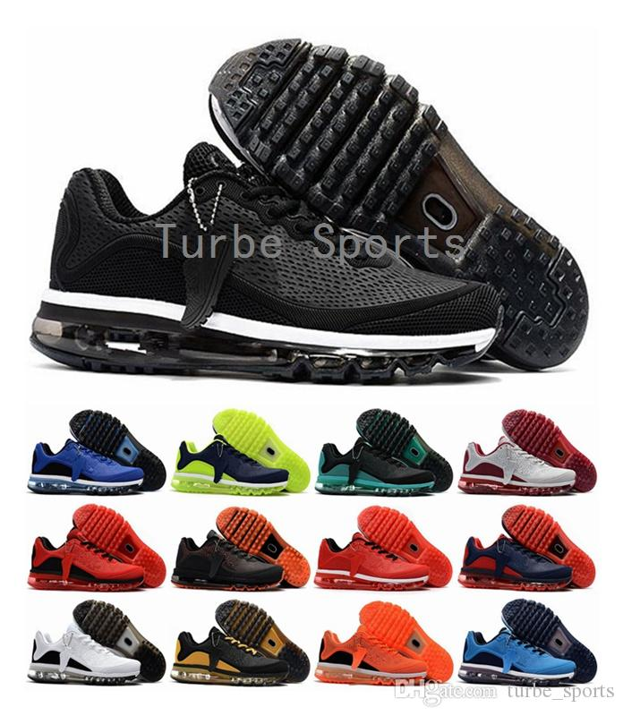 d147fdaa2f2 2018 Wholesale Cheap Maxes 2017.5 KPU Sneakers Air Cushion for Men High  Quality BENGAL Sneaker Mens Running Sports Brand Shoes Size 13 Free  Shipping Brand ...