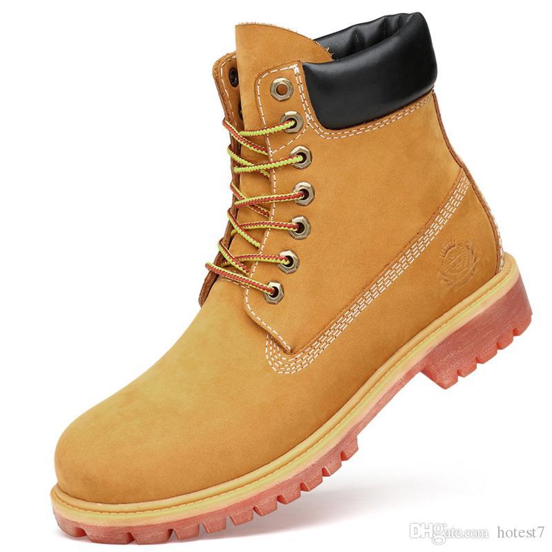 separation shoes 7ef71 dbe78 Herren Martin Stiefel aus echtem Leder Stiefel außerhalb Sportschuhe Anzug  für Frühjahr und Herbst hohe Qualität und sehr schön